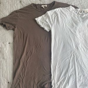 Pack of two urban outfitters brand longline shirts